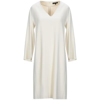 ANTONELLI ミニワンピース&ドレス アイボリー 42 レーヨン 70% / アセテート 26% / ポリウレタン 4% ミニワンピース&ドレス