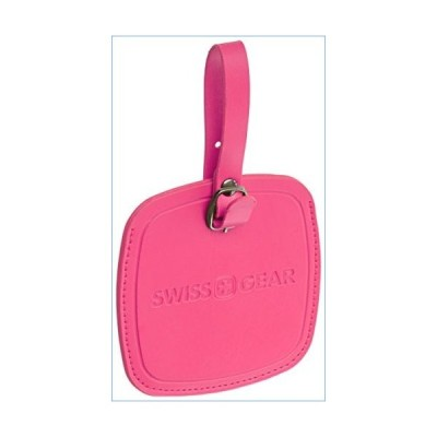 Swiss Gear Jumbo Pink Luggage Tag - Designed Extra-large To Be Easily Spotted on Luggage Carousels並行輸入品