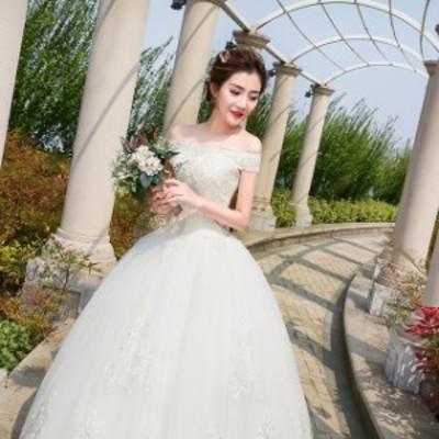 ウエディングドレス aライン 白 袖あり レース 花嫁 結婚式 二次会 ブライダル 前撮り 後撮り 披露宴 ウエディングフォト p42