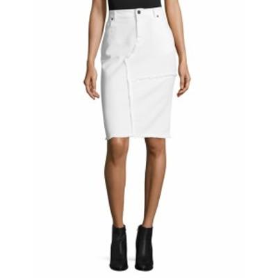 トムフォード レディース スカート Cotton Distressed Skirt