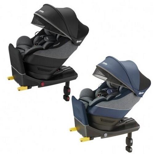 Aprica 愛普力卡-Cururila plus 新型態迴轉式ISOFIX座椅-黎明昇起/蔚藍海岸