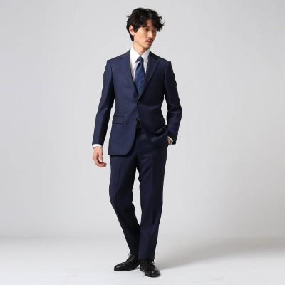 タケオ キクチ TAKEO KIKUCHI 【Sサイズ~】シャドーオルタネイトストライプスーツ (ネイビー)