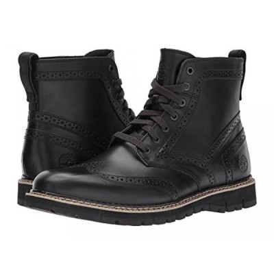ティンバーランド メンズ ブーツ Timberland Men's Britton Hill Moc-Toe Waterproof Boot