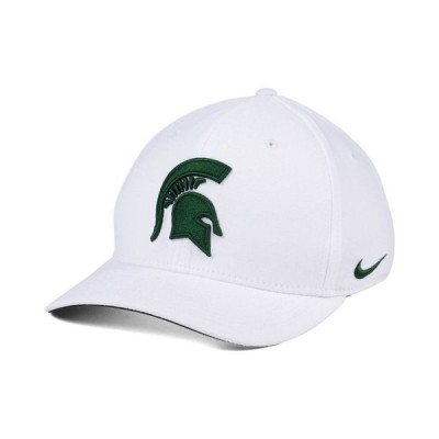 ナイキ メンズ 帽子 アクセサリー Michigan State Spartans Classic Swoosh Cap