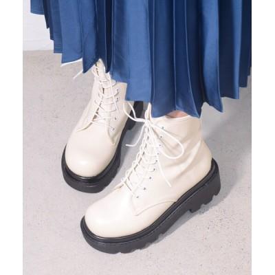ESPERANZA / タンクソールレースアップブーツ WOMEN シューズ > ブーツ