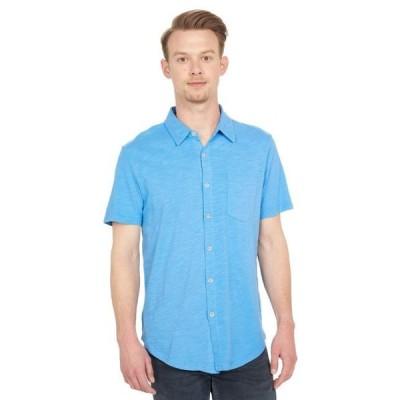 メンズ シャツ トップス Montana Short Sleeve Button Front Shirt