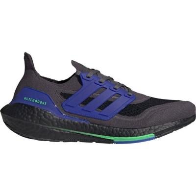 アディダス adidas メンズ ランニング・ウォーキング シューズ・靴 Ultraboost 21 Running Shoes Black/Blue/Green