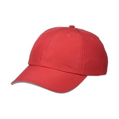 Ashe City メンズ ピッチパフォーマンス野球帽 US サイズ: One Size カラー: レッド