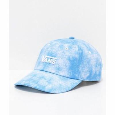ヴァンズ キャップ Vans Court Cloudwash Strapback Hat Blue