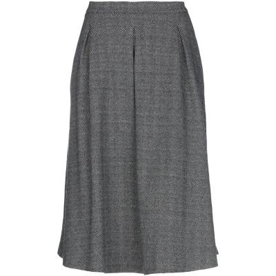 CONSEPT 7分丈スカート ブラック 40 ポリエステル 60% / レーヨン 35% / ポリウレタン 5% 7分丈スカート