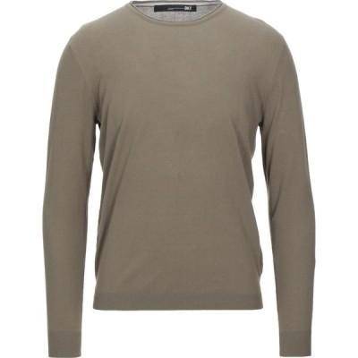 ディクタット DIKTAT メンズ ニット・セーター トップス sweater Military green