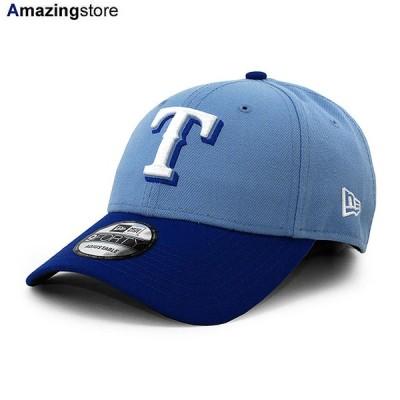 ニューエラ 9FORTY テキサス レンジャーズ 【MLB THE LEAGUE ALTERNATE-2 ADJUSTABLE CAP/LT BLUE-RYL BLUE】 NEW ERA TEXAS RANGERS