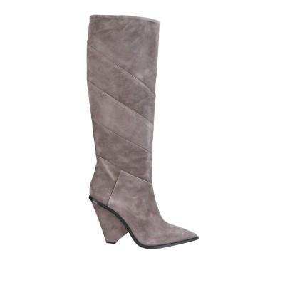 GIAMPAOLO VIOZZI ブーツ ドーブグレー 38 山羊革 100% ブーツ