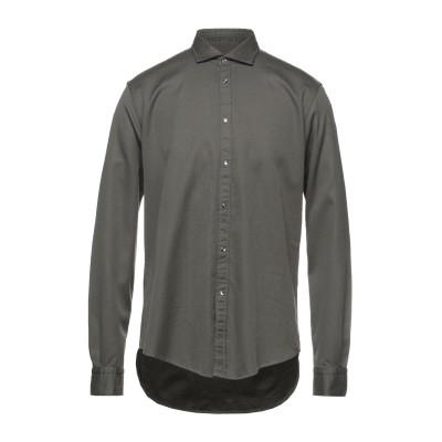 ブライアン デールズ BRIAN DALES シャツ ミリタリーグリーン 45 コットン 100% シャツ