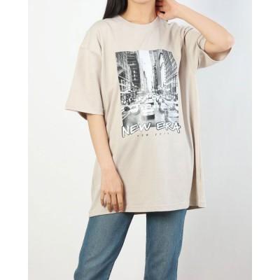ニューエラ NEW ERA NEW ERA/ニューエラ Tシャツ 12836577 (ベージュ)