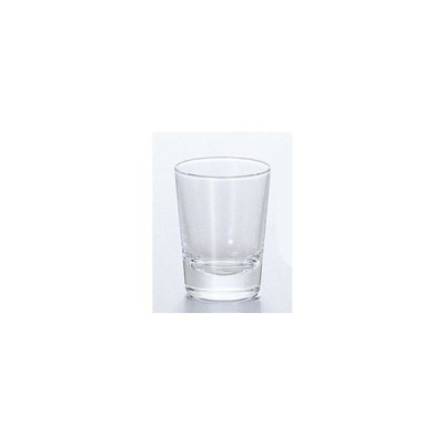 ガラス製品 Wウイスキー (12個入) [D49 x 63(最大径49)mm55cc]  料亭 旅館 和食器 飲食店 業務用
