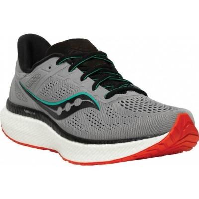 サッカニー Saucony メンズ ランニング・ウォーキング スニーカー シューズ・靴 Hurricane 23 Running Sneaker Alloy/Scarlet