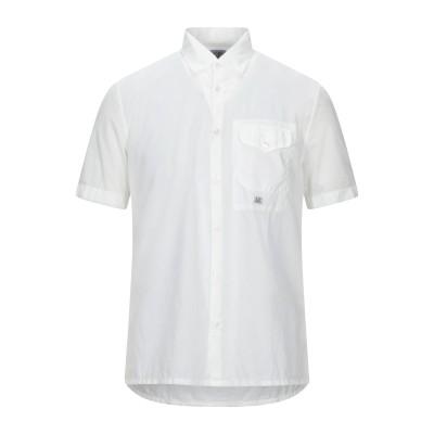 シーピーカンパニー C.P. COMPANY シャツ ホワイト 3XL コットン 100% シャツ