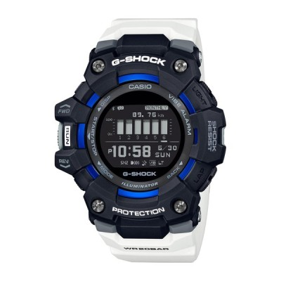 カシオ (国内正規品)G-SHOCK(ジーショック)G-SQUAD Bluetoothクォーツ メンズタイプ GBD-100-1A7JF 返品種別A