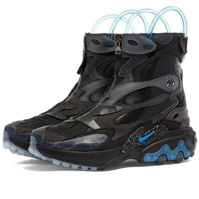 ナイキ Nike x Undercover Gyakusou メンズ スニーカー シューズ・靴 Nike x Undercover React Boot Black/Blue Nebula