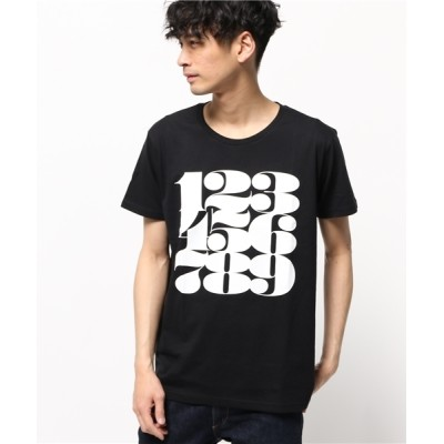 """tシャツ Tシャツ Sync.【House Industries】TEE """"NUMBERS"""""""