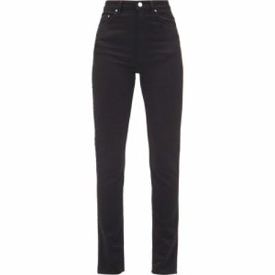 トーテム Toteme レディース ジーンズ・デニム ボトムス・パンツ New Standard high-rise slim-leg jeans Black