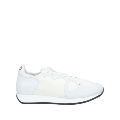 フィリップ モデル PHILIPPE MODEL スニーカー&テニスシューズ(ローカット) ホワイト 36 革 / 紡績繊維 スニーカー&テニスシュ