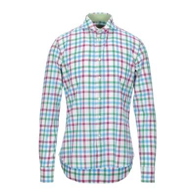 BULGARINI シャツ ホワイト 39 コットン 100% シャツ