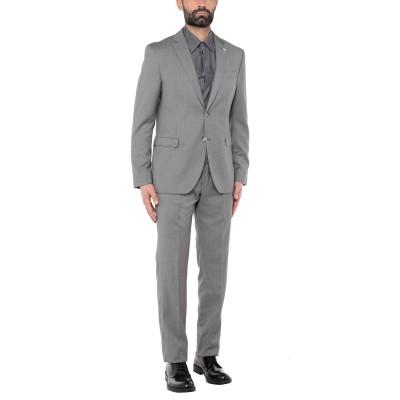 マニュエル リッツ MANUEL RITZ スーツ グレー 52 ポリエステル 76% / レーヨン 23% / ポリウレタン 1% スーツ
