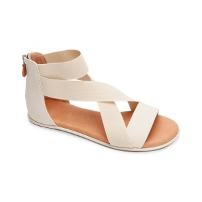 ジェントルソウルズ レディース サンダル シューズ Gentle Souls by Kenneth Cole Break Elastic Leather Sandal stone leather