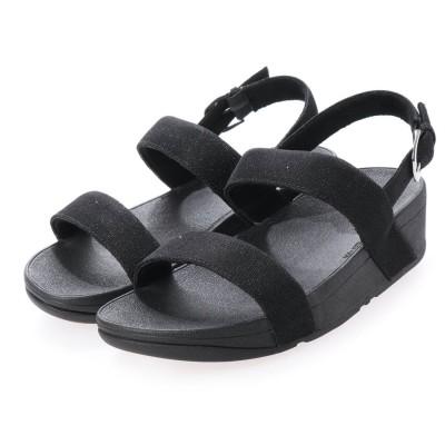フィットフロップ fitflop LOTTIE GLITZY SANDAL (Black)