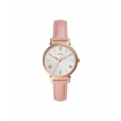 フォッシル レディース 腕時計 アクセサリー Women's Daisy Blush Leather Strap Watch 34mm Pink