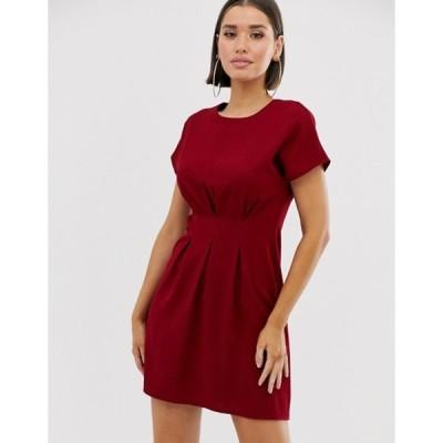 エイソス レディース ワンピース トップス ASOS DESIGN wiggle mini dress