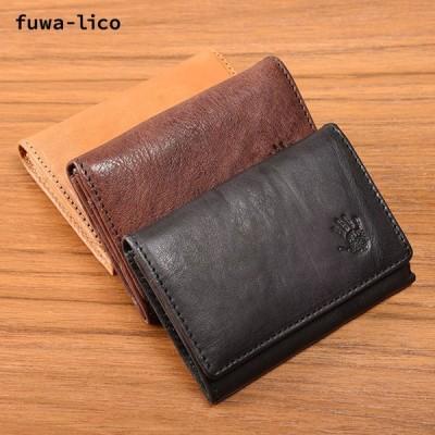 fuwa-lico【イタリアンウォッシュレザー】名刺入れ フワリコ カードケース メンズ レディース ギフト