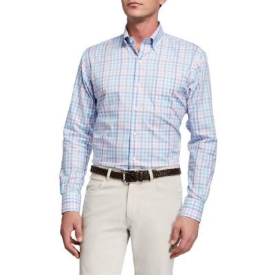 ピーター・ミラー メンズ シャツ トップス Men's Crown Multi-Check Sport Shirt