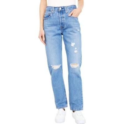 リーバイス Levi's Premium レディース ジーンズ・デニム ボトムス・パンツ 501 Jeans Athens Crown/Destruction