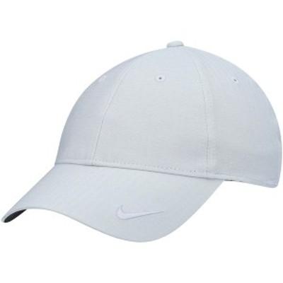 ナイキ レディース 帽子 アクセサリー Nike Golf Women's Heritage 86 Core Adjustable Hat Gray