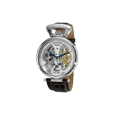 海外セレクション 腕時計 Stuhrling 127A2 33152 メンズ Emperor's Grand DT オートマチック スケルトン ダイヤル 腕時計