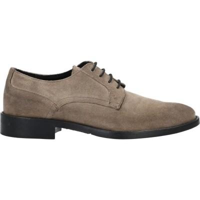 ノード NODO メンズ シューズ・靴 laced shoes Khaki