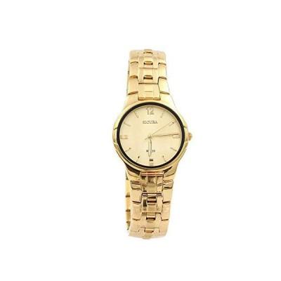 Sicura Women 's Watch SAMG 2232 52yイエローゴールドクオーツステンレススチールゴールドトーン