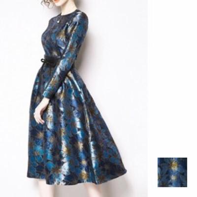 韓国 ファッション レディース ワンピース パーティードレス ロング マキシ 夏 春 パーティー ブライダル naloE820 結婚式 お呼ばれドレ