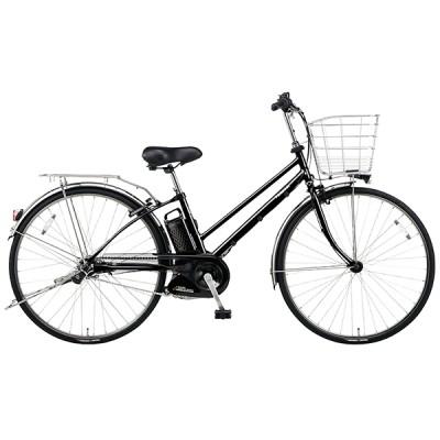 PANASONIC BE-ELDT756-B ピュアブラック ティモ・DX [電動アシスト自転車(27インチ・内装5段)] 電動自転車