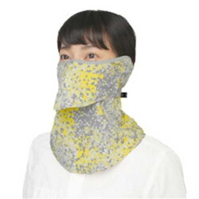 YAKENU ヤケーヌフィットプリズム 耳カバー付 UVカットマスク [カラー:イエロー] [サイズ:フリー] #478