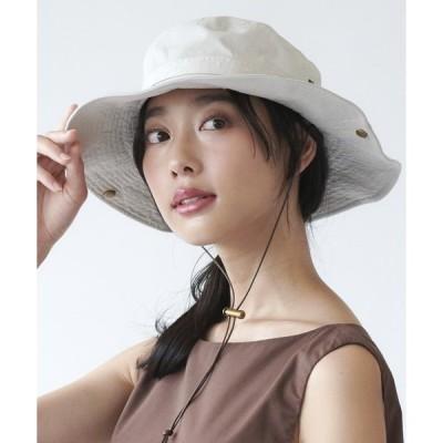 帽子 ハット 【milsa】 WASHED ADVENTURE HAT/【ミルサ】ウォッシュド アドベンチャー フェス ハット