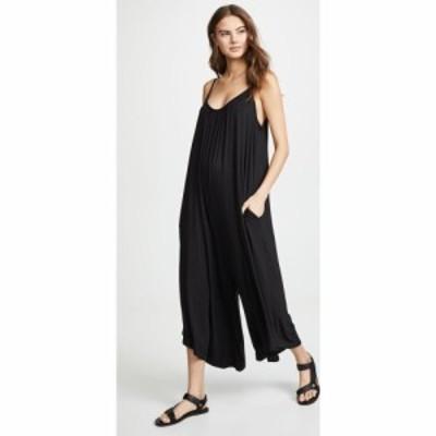 ゼットサプライ Z Supply レディース オールインワン ジャンプスーツ ワンピース・ドレス The Flared Jumpsuit Black