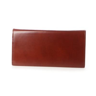 グレディア GREDEER コードバン長財布 (ライトブラウン)