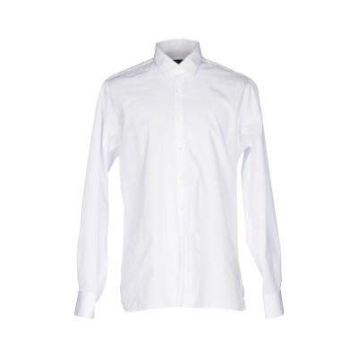 ランバン LANVIN シャツ ホワイト 45 コットン 100% シャツ