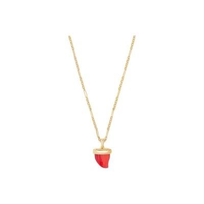 ケンドラスコット ネックレス・チョーカー・ペンダントトップ アクセサリー レディース Oleana Pendant Necklace Gold/Red Mother-of-Pearl