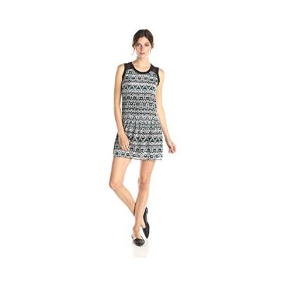 オリーブ & オーク レディース プリント ドレス, ブラック/Multi, X-スモール(海外取寄せ品)