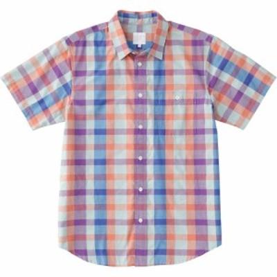 【メール便OK】THE NORTH FACE(ザ・ノースフェイス) NR21812 SS MADRAS CHECK SH ショートスリーブマドラスチェックシャツ